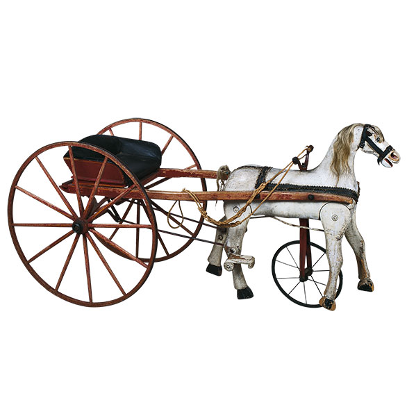 Child's tricycle horse and cart – <em>a willingness to play</em>